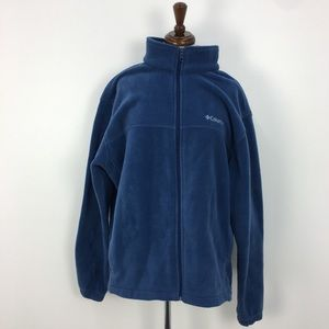 Columbia Blue Fleece Jacket